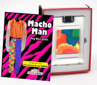 MACHO MAN RANDY SAVAGE WORN OUTFIT MYSTERY SWATCH BOX! 1 or 2 Per Box! at PristineAuction.com