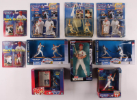 Lot of (10) Mark McGwire & Sammy Sosa Starting Lineup Figurines at PristineAuction.com