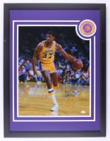 Magic Johnson Signed Lakers 22x29 Custom Framed Photo Display (JSA Hologram) at PristineAuction.com