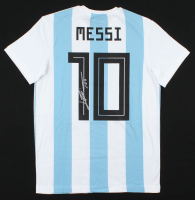 "Lionel Messi Signed Team Argentina Jersey Inscribed ""Leo"" (JSA ALOA) at PristineAuction.com"