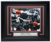 """Mike Tyson Signed """"The Baddest Man On the Planet"""" 11x14 Custom Framed Photo Display (JSA COA) at PristineAuction.com"""