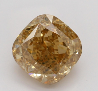 1.02ct Natural Orange-Brown Loose Diamond (GIA Certified) at PristineAuction.com