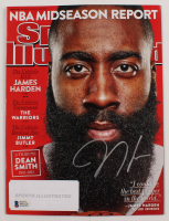 James Harden Signed 2015 Sports Illustrated Magazine (Beckett COA) at PristineAuction.com
