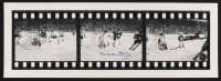 "Bobby Orr Signed Bruins ""The Flying Goal"" 3-Image Filmstrip 7x25 Photo (Orr COA) (Imperfect) at PristineAuction.com"