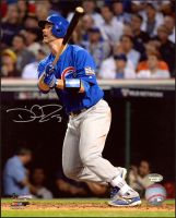 David Ross Signed Cubs 2016 World Series 8x10 Photo (Schwartz COA) at PristineAuction.com