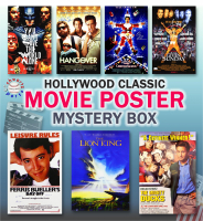 Schwartz Sports Hollywood Classic Movies Signed 11x17 Movie Posters Mystery Box - Series 12 (Limited to 75) ** Multiple Full Size Movie Poster Redemptions** at PristineAuction.com