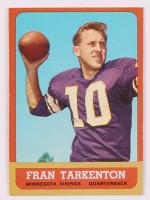 Fran Tarkenton 1963 Topps #98 at PristineAuction.com