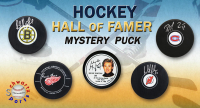Schwartz Sports Hockey Hall of Famer Signed Logo Hockey Puck Mystery Box - Series 12 (Limited to 100) at PristineAuction.com