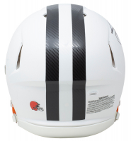 Jarvis Landry Signed Browns Full-Size Authentic On-Field Matte White Speed Helmet (JSA COA) at PristineAuction.com