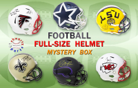 Schwartz Sports Football Superstar Signed Full Size Football Helmet Mystery Box – Series 15 (Limited to 75) at PristineAuction.com