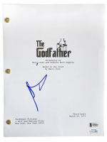 "Al Pacino Signed ""The Godfather"" Movie Script (Beckett COA & AutographCOA Hologram) at PristineAuction.com"
