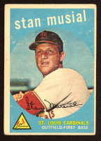 Stan Musial 1959 Topps #150 at PristineAuction.com