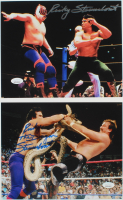 """Lot of (2) Ricky """"The Dragon"""" Steamboat Signed 8x10 Photos (JSA COA) at PristineAuction.com"""