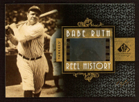 Babe Ruth 2007 SP Legendary Cuts Reel History Film Frame #BR at PristineAuction.com