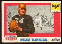 Nile Kinnick 1955 Topps All American #6 RC at PristineAuction.com