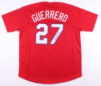 Vladimir Guerrero Signed Jersey (JSA COA) at PristineAuction.com