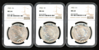 1923 $1 Peace Silver Dollar (NGC MS 64) at PristineAuction.com