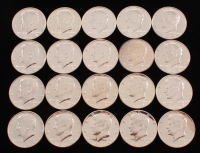 Lot of (20) 1964 Kennedy Half-Dollar Coins at PristineAuction.com