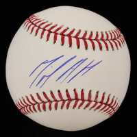 Miguel Andujar Signed OML Baseball (Beckett COA) at PristineAuction.com