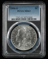 1904-O $1 Morgan Silver Dollar (PCGS MS63) at PristineAuction.com