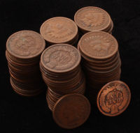 Lot of (113) 1890-1909 1¢ Indian Head Cent Coins at PristineAuction.com