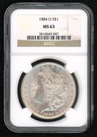 1884-O Morgan Silver Dollar (NGC MS63) at PristineAuction.com