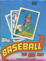 1989 Topps Baseball Unopened Wax Box with (36) Packs at PristineAuction.com