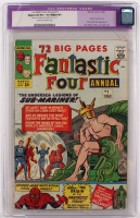 "1963 ""Fantastic Four"" Issue #1 Marvel Comic Book (CGC Restored 4.5) at PristineAuction.com"
