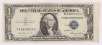 1935-E U.S. $1 One Dollar Blue Seal Silver Certificate Note at PristineAuction.com