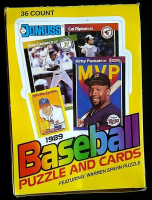 1989 Donruss Baseball Unopened Wax Box with (36) Packs at PristineAuction.com