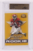 Calvin Ridley 2018 Leaf Greatest Hits Valiant Rookie #BACR1 Pre-Production Proof Clear Gold #1 / 1 (BGS Authentic) at PristineAuction.com