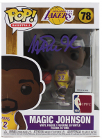 Magic Johnson Signed Lakers #78 Funko! Pop Figure (Beckett COA) at PristineAuction.com