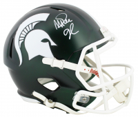 Magic Johnson Signed Michigan State Spartans Speed Helmet (Beckett COA) at PristineAuction.com