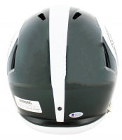 Magic Johnson Signed Michigan State Spartans Full-Size Speed Helmet (Beckett COA) at PristineAuction.com