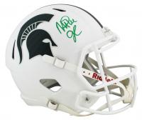 Magic Johnson Signed Michigan State Spartans Speed Helmet (Beckett COA) at PristineAuction.com