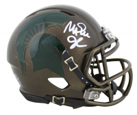 Magic Johnson Signed Michigan State Spartans Speed Mini Helmet (Beckett COA) at PristineAuction.com