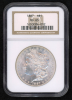 1887 Morgan Silver Dollar (NGC MS63) at PristineAuction.com