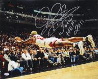 "Dennis Rodman Signed Bulls 16x20 Photo Inscribed ""Worm"" & ""HOF 2011"" (PSA COA) at PristineAuction.com"