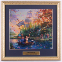"Thomas Kinkade ""Pocahontas"" 16x16 Custom Framed Print Display at PristineAuction.com"