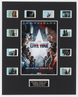 """Captain America: Civil War"" LE 8x10 Custom Matted Original Film / Movie Cell Display at PristineAuction.com"