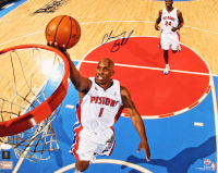 Chauncey Billups Signed Pistons 16x20 Photo (JSA COA) at PristineAuction.com