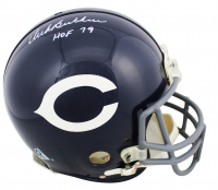 """Dick Butkus Signed Bears Throwback Full-Size Authentic On-Field Helmet Inscribed """"HOF 79"""" (JSA COA) at PristineAuction.com"""