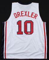 Clyde Drexler Signed Jersey (JSA COA) at PristineAuction.com
