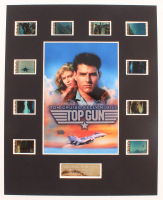 """Top Gun"" LE 8x10 Custom Matted Original Film / Movie Cell Display at PristineAuction.com"