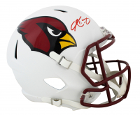Kyler Murray Signed Cardinals Full-Size Matte White Speed Helmet (Beckett COA) at PristineAuction.com