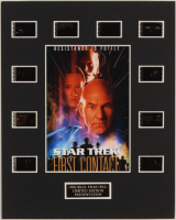 """""""Star Trek First Contact"""" LE 8x10 Custom Matted Original Film / Movie Cell Display at PristineAuction.com"""