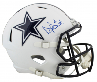Dak Prescott Signed Cowboys Full-Size Matte White Speed Helmet (Beckett COA & Prescott Hologram) at PristineAuction.com