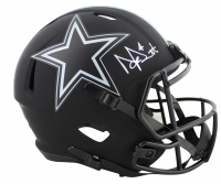 Dak Prescott Signed Cowboys Eclipse Alternate Speed Full-Size Helmet (Beckett COA) at PristineAuction.com