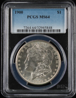 1900 $1 Morgan Silver Dollar (PCGS MS64) at PristineAuction.com