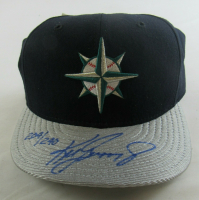 Ken Griffey Jr. Signed LE Mariners Fitted Baseball Hat (UDA COA) at PristineAuction.com